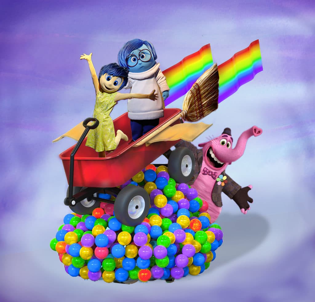 Pixar Play Parade - Inside Out