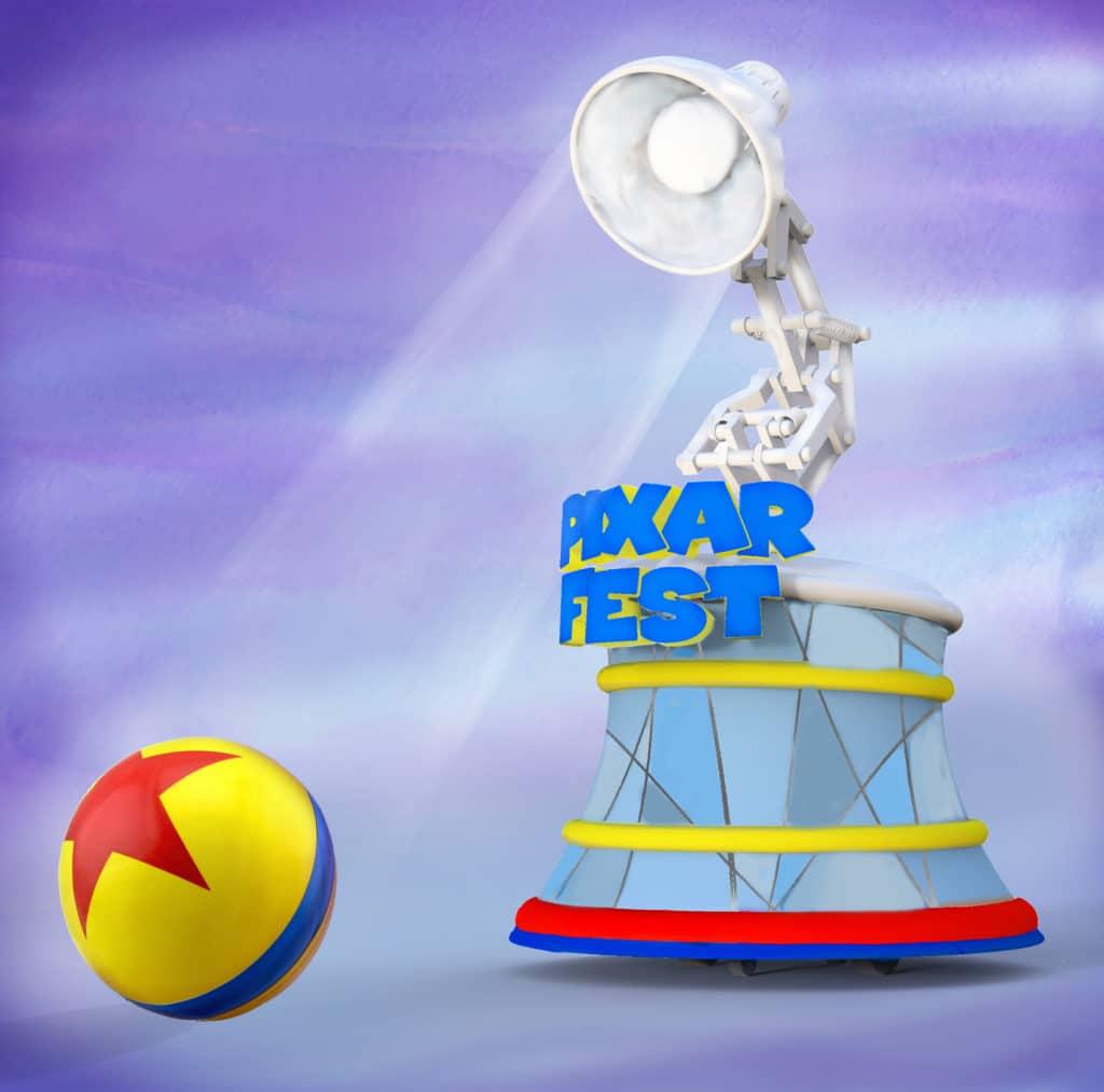 Pixar Play Parade - Pixar Lamp