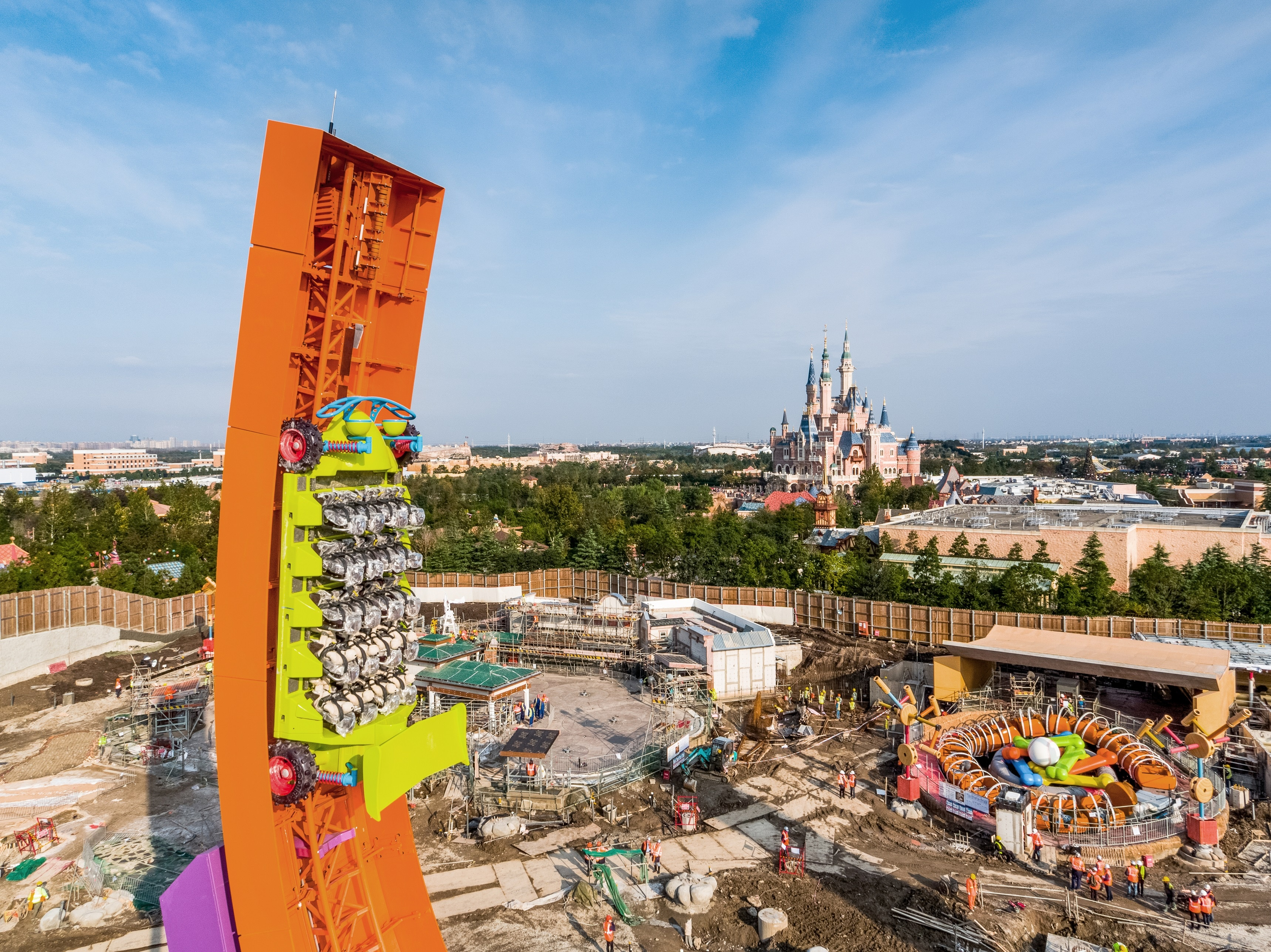 Toy Story Land Shanghai Disneyland Set To Open In April