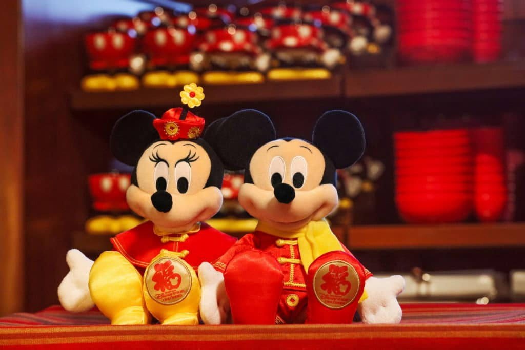 this year shanghai disney resort is releasing more than 40 specially designed chinese new year merchandise items for a limited time only the new line