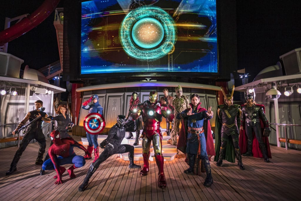 "Marvel Day at Sea - ""Marvel Heroes Unite"""