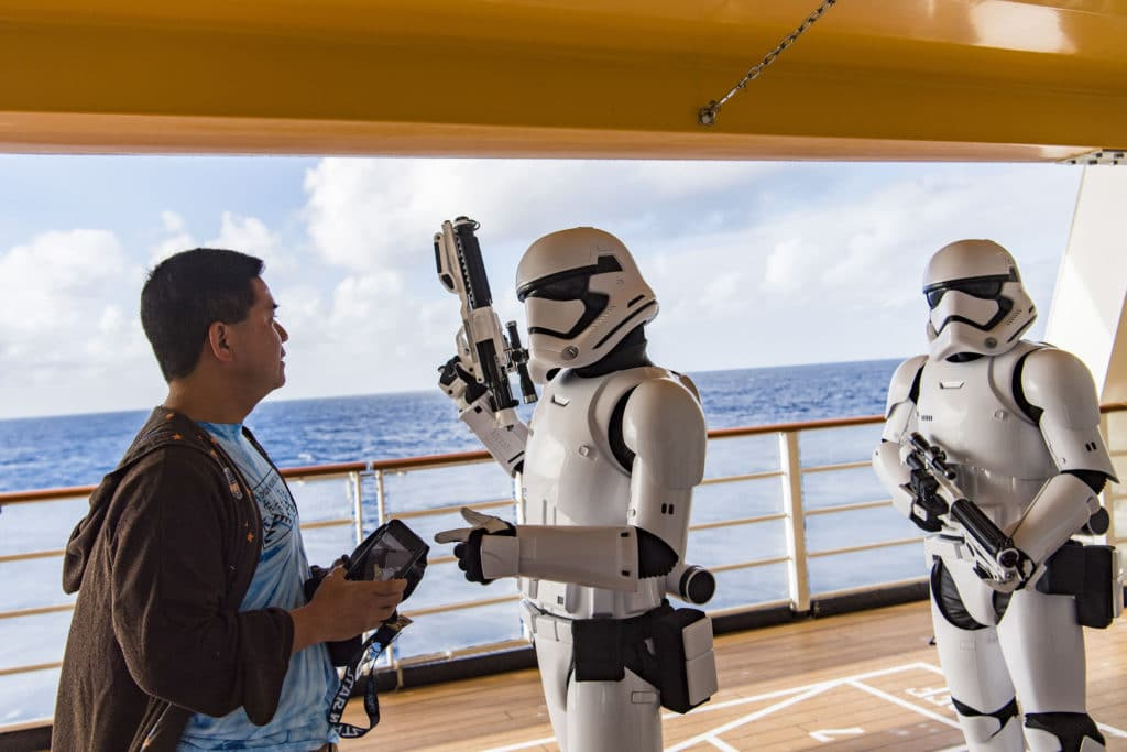 Star Wars Day at Sea - Stormtrooper Patrol
