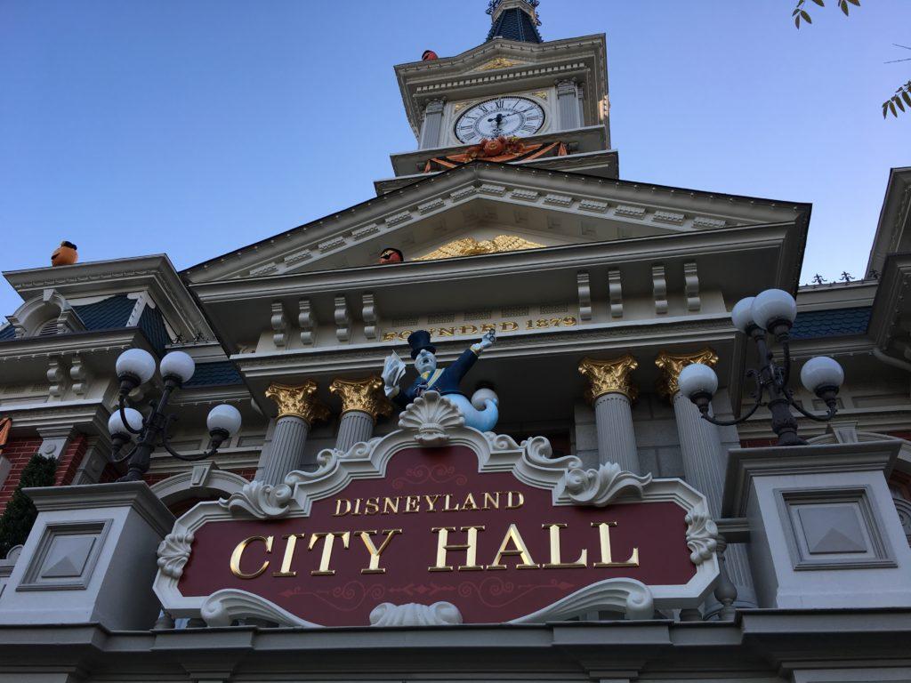 Disneyland Paris - City Hall - Halloween
