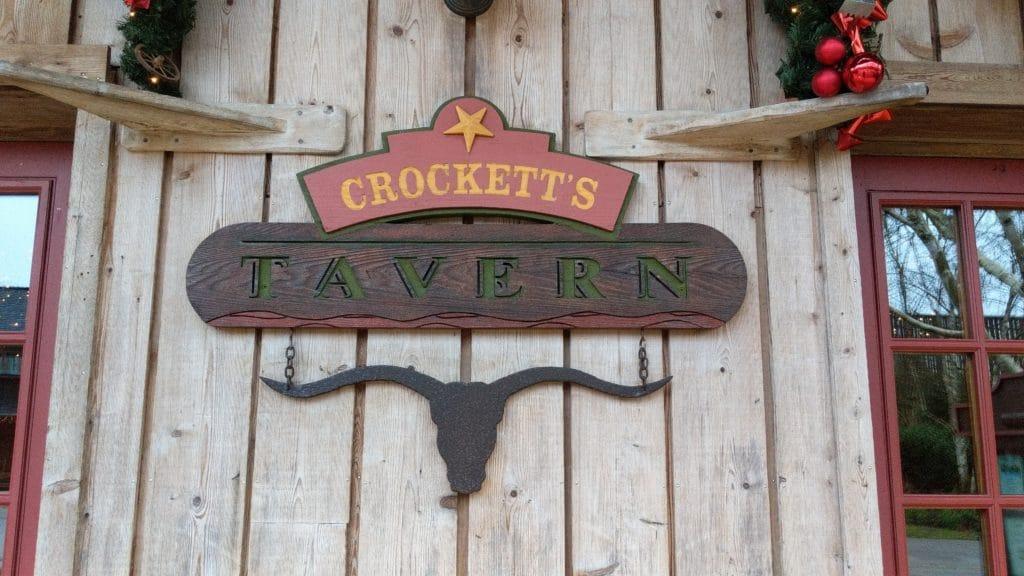 Disneyland Paris - Davy Crockett Ranch - Tavern