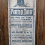 Disneyland Paris - Phantom Manor Refurbishment - Themed Posters