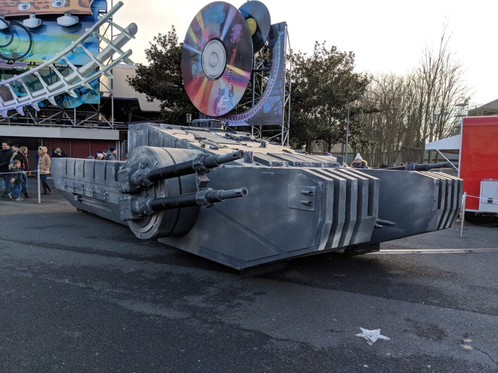 Disneyland Paris - Season of the Force 2018 - Combat Assault Tank