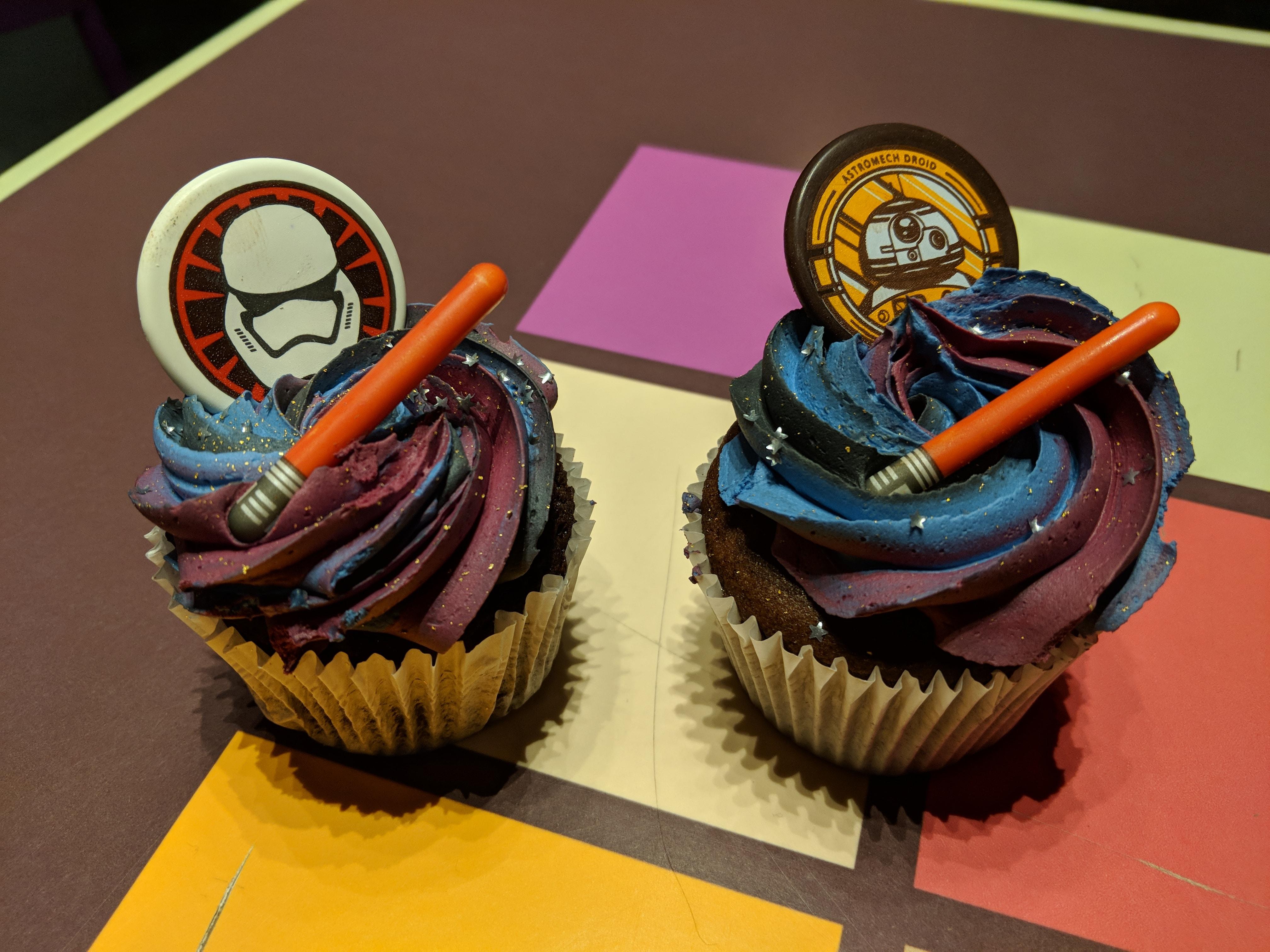 Disneyland Paris - Season of the Force 2018 - Cupcakes