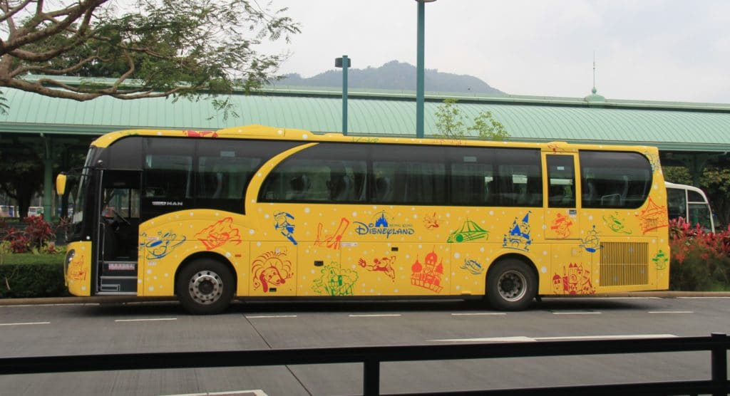 Hong Kong Disneyland - Bus