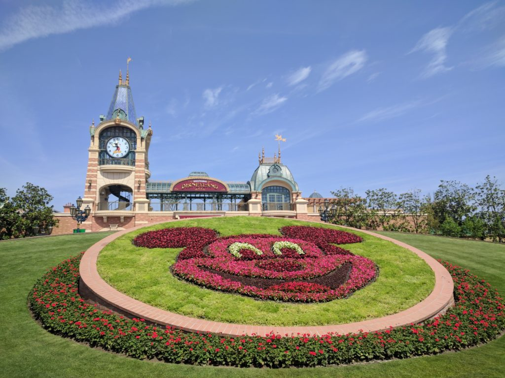 Shanghai Disney Resort - Mickey Clock