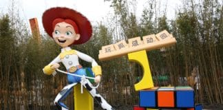 Shanghai Disney Resort - Toy Story Land - Jessy (close-up)