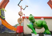 Shanghai Disney Resort - Toy Story Land - Rex and Trixie (3)