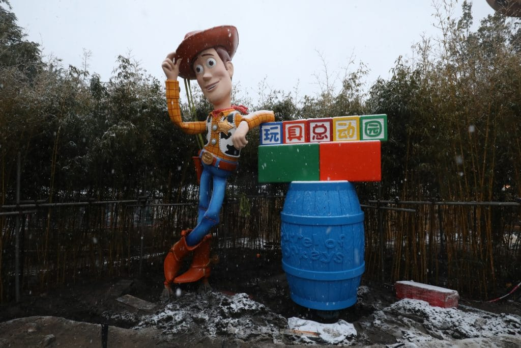 Shanghai Disney Resort - Toy Story Land - Woody
