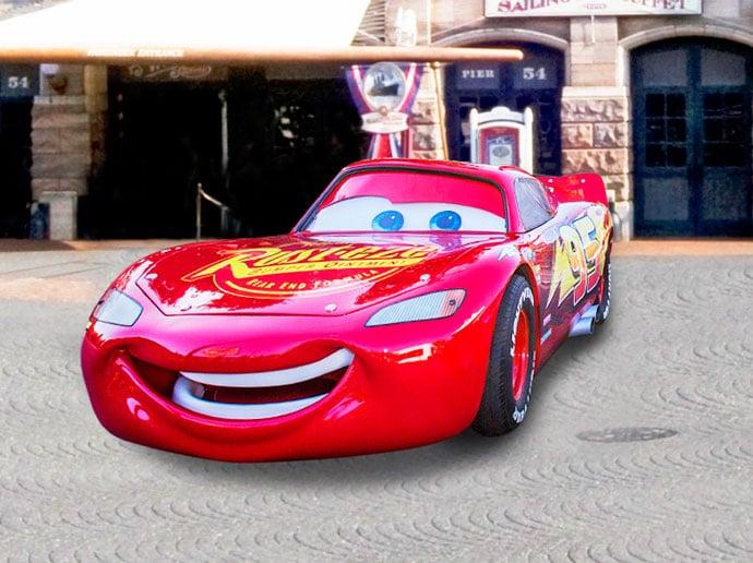 Tokyo DisneySea - Pixar Playtime - Lightning McQueen