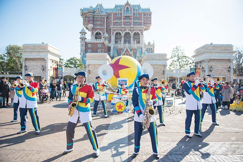 Tokyo DisneySea - Pixar Playtime - Martime Band