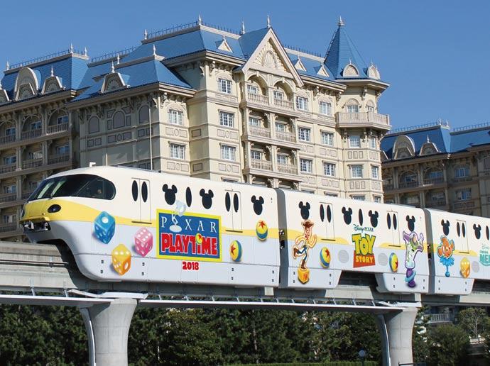 Tokyo DisneySea - Pixar Playtime - Resort Line