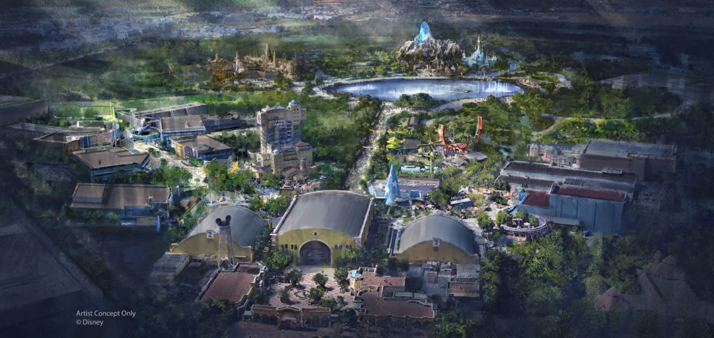 Announcement Disneyland Paris Expansion