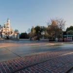 Disneyland - New Brick Work Cinderella Castle