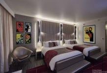 Disney's Hotel New York – The Art of Marvel - Room Concept Art