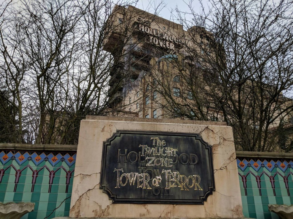 Disneyland Paris - Hollywood Tower of Terror