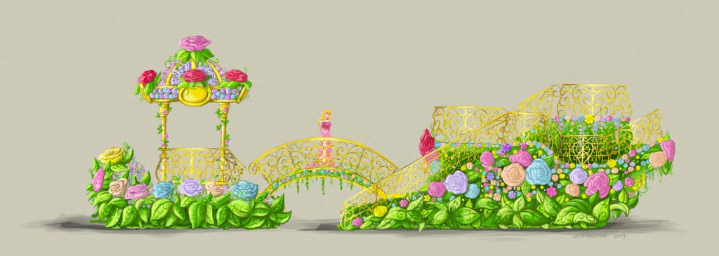 Disneyland Paris - The Festival of Pirates and Princesses - Princess Float