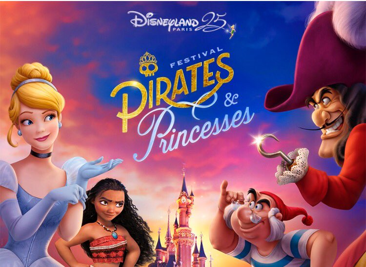 Disneyland Paris - The Festival of Pirates and Princesses