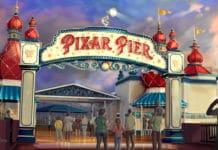 Disneyland Resort - Pixar-Pier Marquee