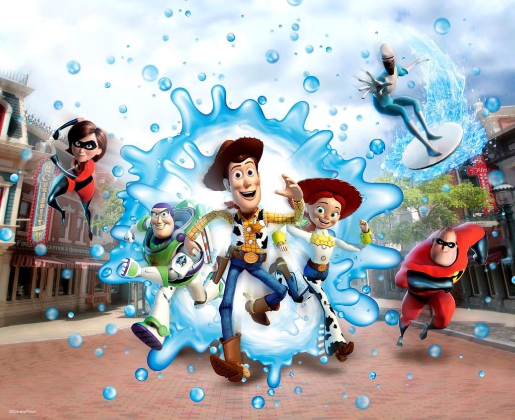 Hong Kong Disneyland Resort - Water Play Street Party