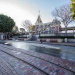 Disneyland - New Brick Work Main Street USA