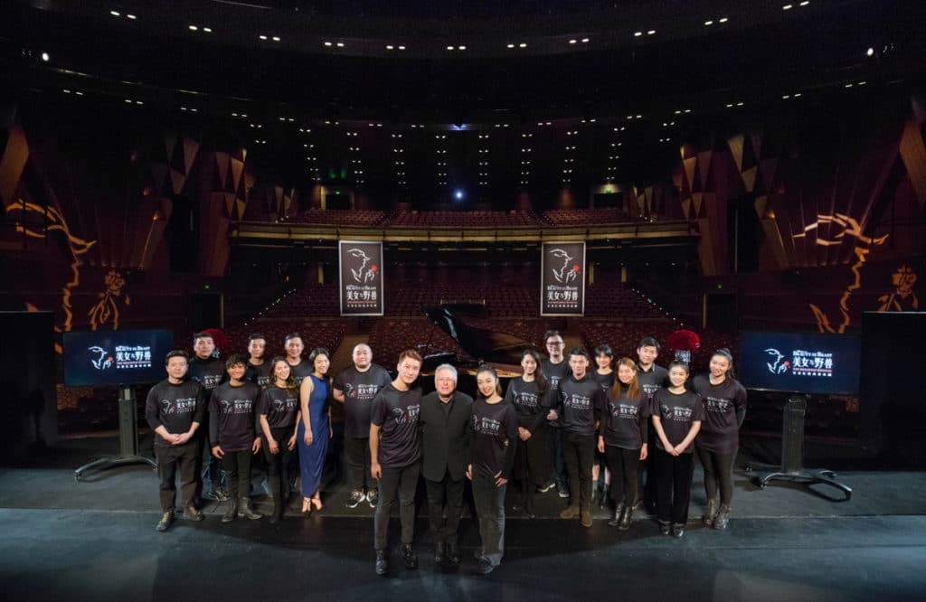 Shanghai Disney Resort - Walt Disney Grand Theatre - Alan Menken Visit