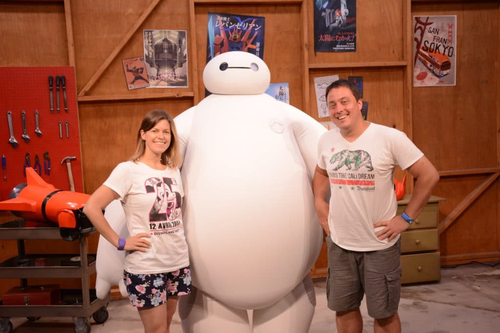 Walt Disney World Resort - Big Hero 6 - BayMax MeetnGreet