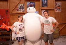 Walt Disney World Resort - Big Hero 6 - BayMax MeetnGreet