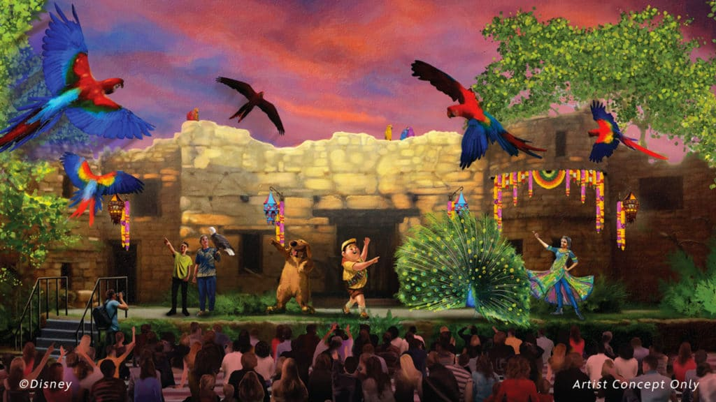 Walt Disney World - Animal Kingdom - UP A Great Bird Adventure Show
