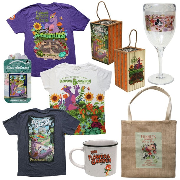 Walt Disney World Resort - Flower & Garden Festival - Merchandise (1)