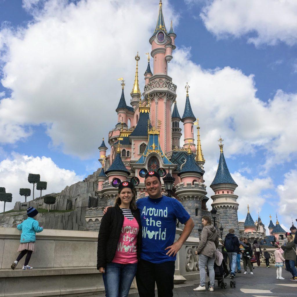 Disney parks around the world - Christina and Arvid