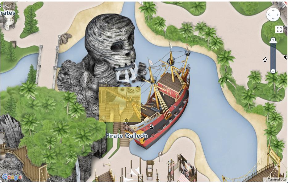 Disneyland Paris - Map - Adventureland
