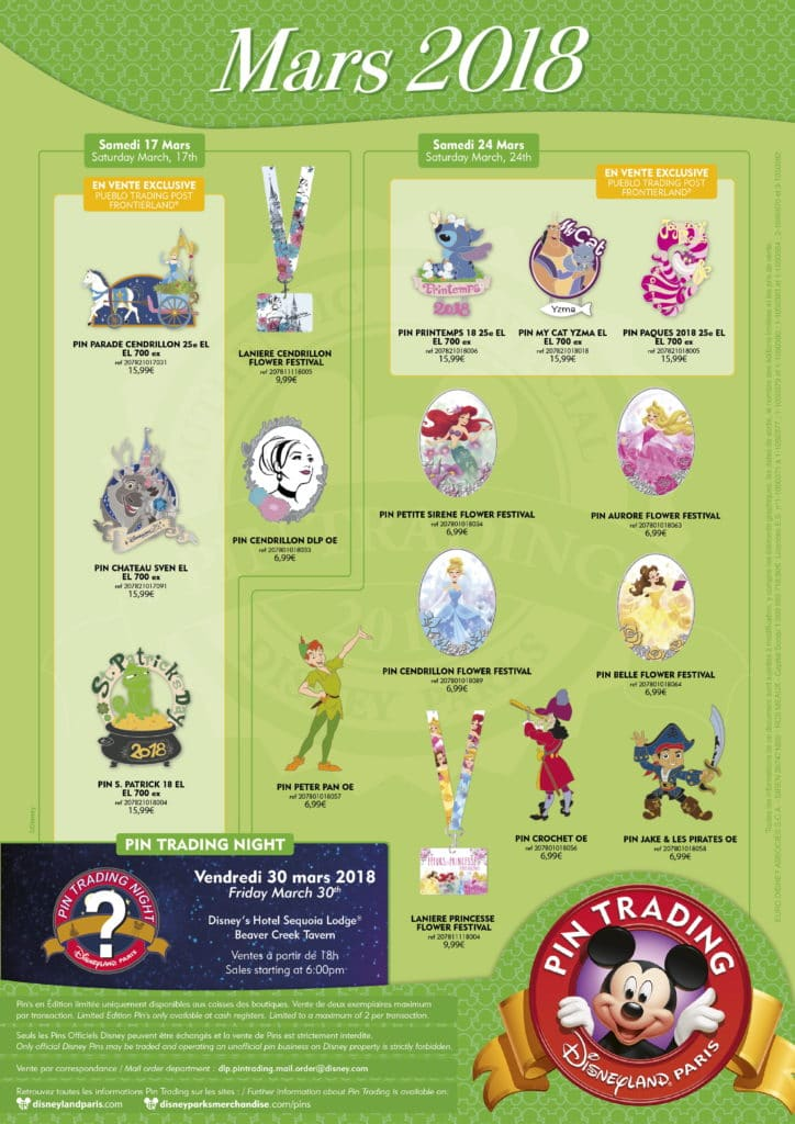 Disneyland Paris - Pin Trading - March 2018-1