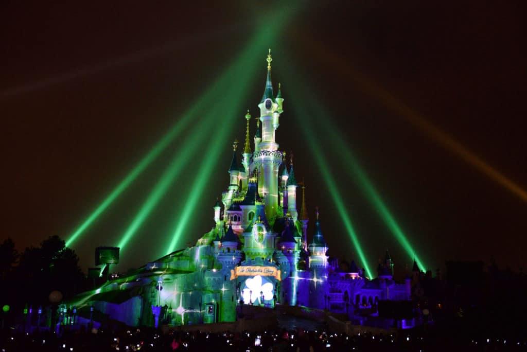 Disneyland Paris - St Patricks Day fireworks