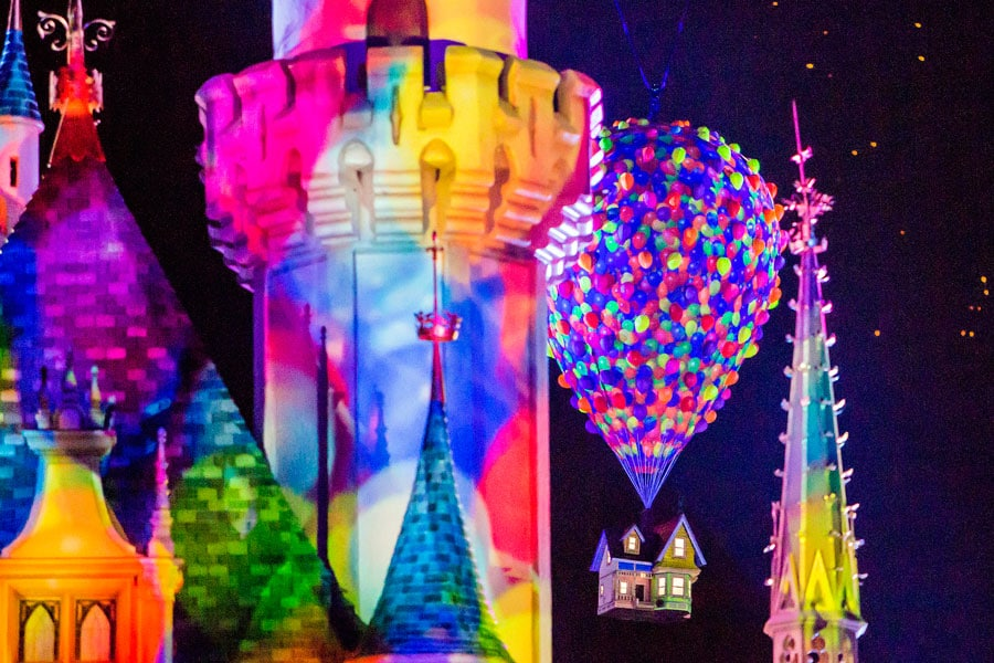 Together Forever – A Pixar Nighttime Spectacular - The Up House