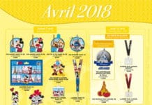 Disneyland Paris - Pin trading - April 2018
