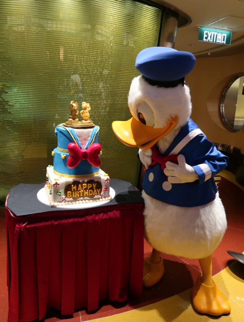 Fantastic Hong Kong Disneyland Celebrates Donalds 84Th Birthday Travel To Personalised Birthday Cards Veneteletsinfo