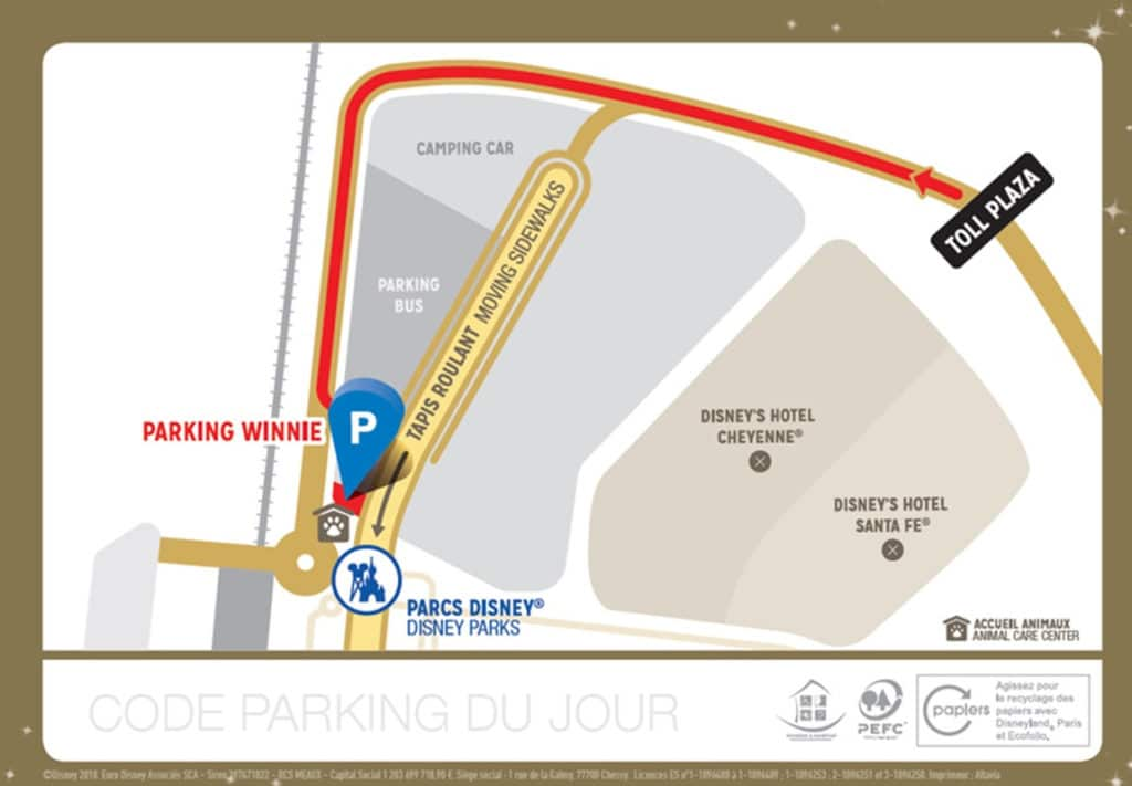 Disneyland Paris - Parking Plus