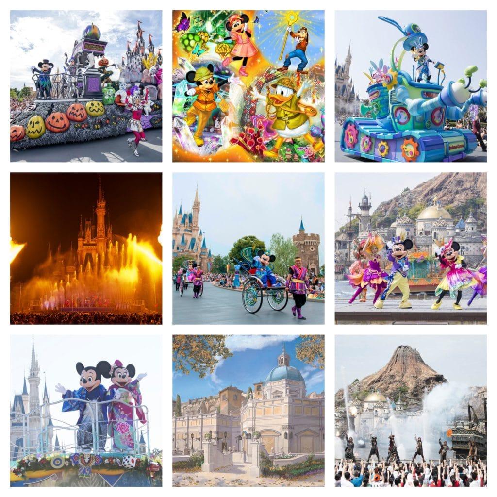 Disneyland Calendar 2020.Tokyo Disney Resort Announces Entertainment Schedule Through March