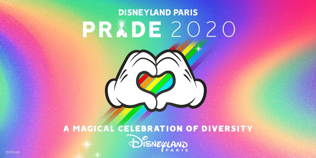 Disneyland Paris - Pride 2020