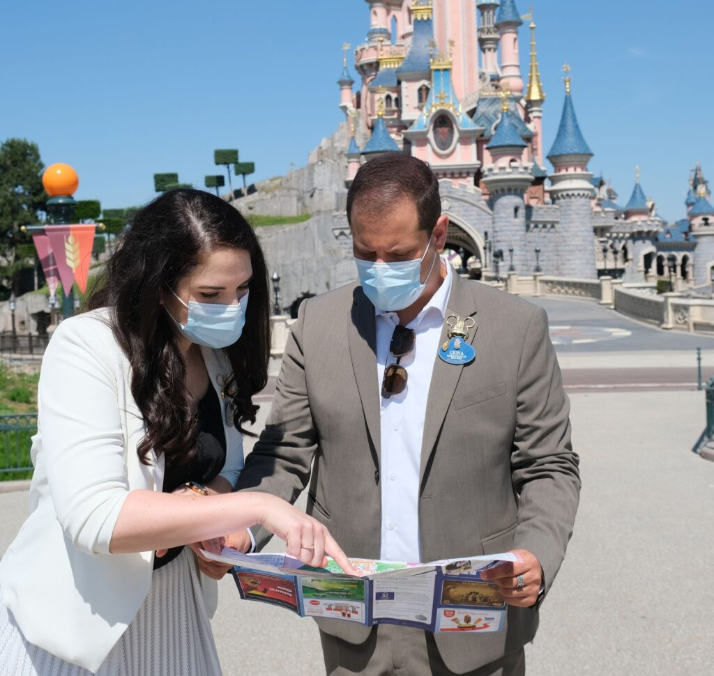 Disneyland Paris Ambassadors visit the Resort while it gets ready to reopen