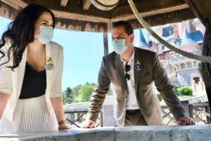 Disneyland Paris Ambassadors visit the Resort while it gets ready to reopen