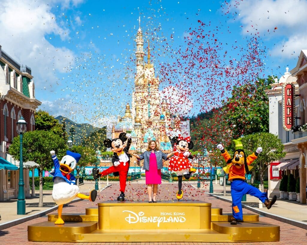 Hong Kong Disneyland Re-opening
