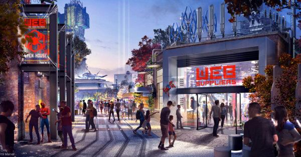 Disneyland Resort - DCA - Avengers Campus