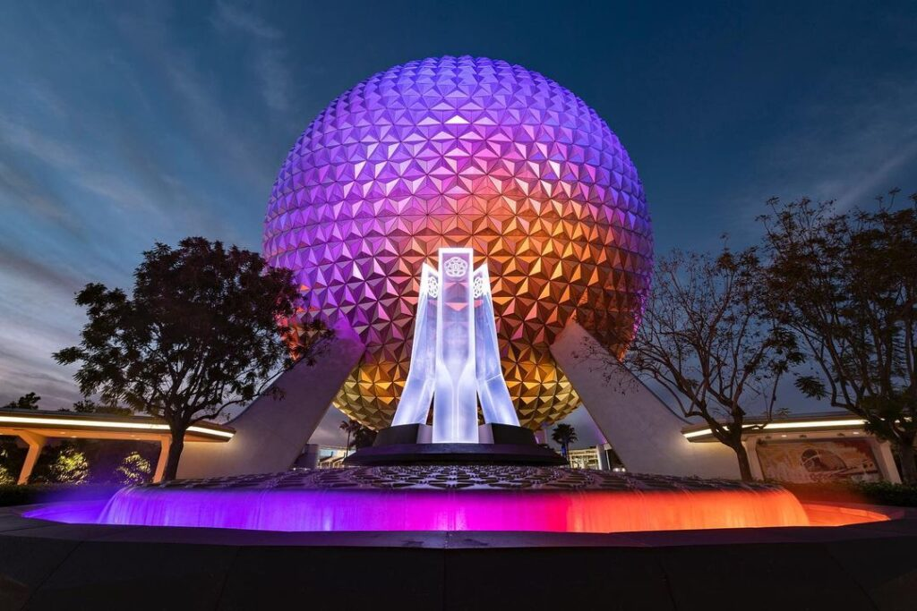 EPCOT - Spaceship Earth - Disney Imagineer Zach Riddley