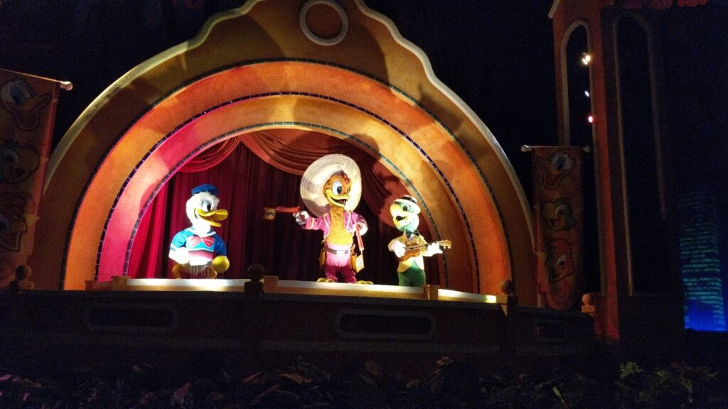 Walt Disney World - Epcot - Gran Fiesta Tour Starring The Three Caballeros