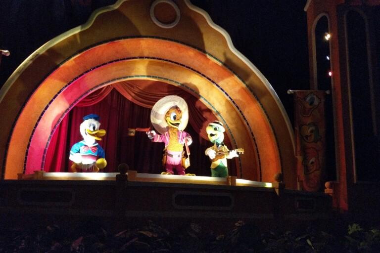 Walt Disney World - Epcot - Gran Fiesta Tour Starring The Three Caballeros